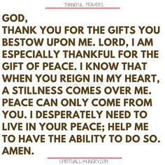Here's a great batch of 30 thankful prayers for you. We are given so much, often times we focus on what we don't have or what we want, instead of being thankful for all that we have. These 30 short prayers will help you foster a thankful heart. Thankful Prayers, Prayers Of Gratitude, Short Prayers, Good Prayers, Thankful And Blessed, Thankful Heart, Bible Prayers, Thankful Quotes, Bible Scriptures