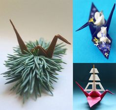 At the beginning of 2015, origami enthusiast Cristian Marianciuc challenged himself to create a new origami crane daily for 365 days.
