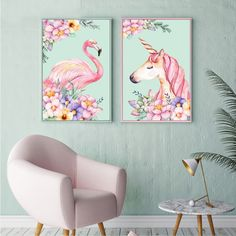 Lovely Flamingo Unicorn Flowers Canvas That`s just superb!  Decorate your home wall - Make your home wall different  Follow us for more  Visit our official store at :  www.u-techlife.com  #home #wall #decor #interiordesign #homedecor #interior #decorations #bedroom #homeidea #archdecor #archdesign #homestyle #homedesign #decoration #cute #style #life #shopping #love #family