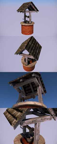 Low Poly Water Well - In-Game Objects - 3DOcean Item for Sale