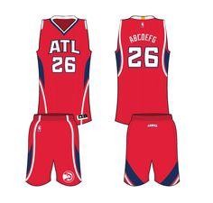 Atlanta Hawks Alternate Uniform 2015