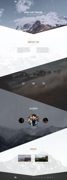 Hike travel website design. Hike is a project, that help people to find a group for hiking.
