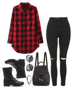 """""""Untitled #383"""" by zirax ❤ liked on Polyvore featuring Topshop, rag & bone, Wood Wood and Monica Vinader"""
