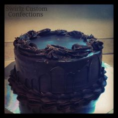 Death by chocolate www.swirlzcustomconfections.com