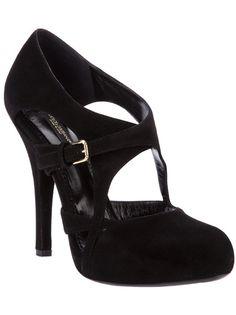 Black suede pump from Dolce & Gabbana