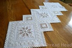 Thread Head: Hardanger Embroidery