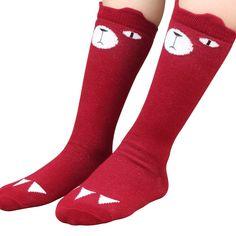 Cute Animal Cartoon Style Cotton Socks 0-2 Years