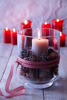 #easy done candle decoration