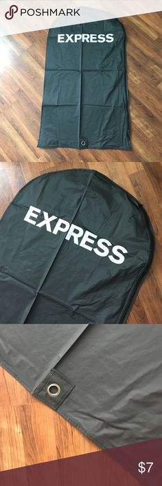 Express Garment Bag Zippered, with hanger pull over on bottom. Used only once to bring suit jacket home from the store. Express Other