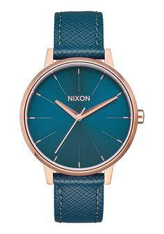 Clean and simple design language, an updated take on heirloom styles 3-hand movement with understated contemporary appeal. Brand: Nixon Band Color: Blue Band Material: Leather Case Diameter (MM): 37 C