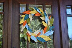 Fall Magnolia Leaf Wreath - Homejoy