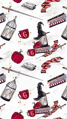 My Gryffindor things Harry Potter Tumblr, Fanart Harry Potter, Images Harry Potter, Wallpaper Harry Potter, Arte Do Harry Potter, Theme Harry Potter, Harry Potter Drawings, Harry Potter Houses, Harry Potter Love