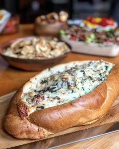 French Bread Loaf, Lipton Onion Soup Mix, Deli Counter, Stuffed Bread, Soup Mixes, Frozen Spinach, Charcuterie, Hot Dog Buns, Seafood