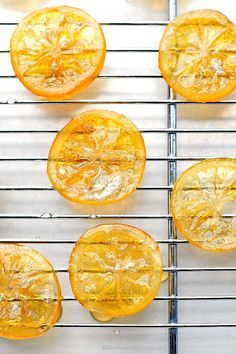 How to make candied lemons. These easy Candied Lemons are a great addition to desserts. The same technique can be used for any citrus too!