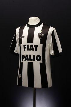 Atletico Mineiro Football Shirt (2002-03, home) .@Jorge Martinez Martinez Cavalcante (JORGENCA)