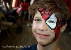Kumi Face Painting - Spider Boy