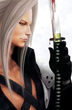Blood View by *sooj - Final Fantasy VII - Sephiroth