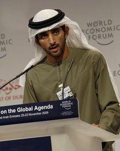 Sheik Hamdan bin Mohammed bin Rashid Al Maktoum, Crown Prince of Dubai.