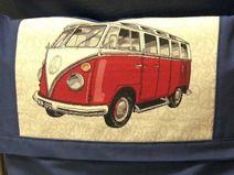 Tasche mit VW-Bulli für Rollstuhl