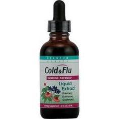 Quantum Health Cold & Flu Elderberry, Echinacea & Goldenseal Extract (1x2 Oz)