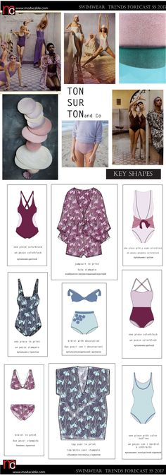 SS 2017 swimwear trends TON sur Ton only at modacable.com, subscribefor free  to see more...