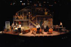 August: Osage County. Everyman Theatre. Set Design by Daniel Ettinger.