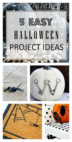 Are you at a loss for unique Halloween decorations? Transform otherwise unassuming pieces in your room into endearing decorations for the Holiday. Paint a spider web on your mat, and draw a spooky spider with a sharpie. Mix it up with Scrabble pieces and pumpkins to create a unique centerpiece. Don't let a lack of inspiration stop you from creating awesome holiday décor. Read some of eBay's awesome tips on how to make easy Halloween decorations, and have a spooktastic holiday.