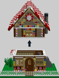Gingerbread House The art of creating a house out of gingerbread and decorating it with candy and sweets is a tradition that began in Europe hundreds of years ago but has sinc...