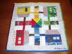 El blog de Dori: Parxís patchwork, a http://retazos-dori.blogspot.com.es/2010/03/parchis.html