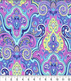 Keepsake Calico Cotton Fabric-Swell Periwinkle