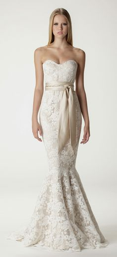 Sweetheart Strapless Trumpet Wedding Dress Available At Carrie Karibo Boutique Cincinnati Ohio