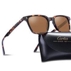 Carfia Polarised Sunglasses Women Man