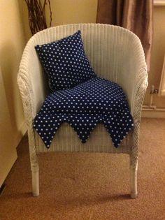 Lloyd loom chair after!