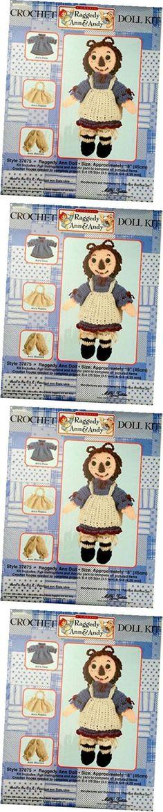 Crochet Kits 108867: Raggedy Ann Crochet Doll Kit -> BUY IT NOW ONLY: $56.61 on eBay!