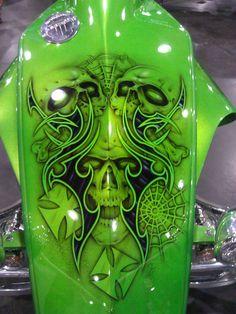 Custom-design motorcycle chopper. #NYMotorcycleShows #Bikes #Cruisers #Motorcycles
