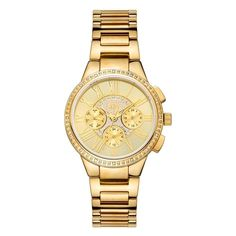 JBW Women's J6328E Helena 0.16 ctw 18k gold-plated stainless-steel Diamond Watch