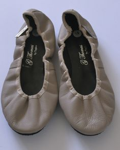 Beautiful leather ballet pumps Handmade with love from Cape Town. Made from genuine leather. Ballet Dance, Dance Shoes, Taupe, Beige, Cape Town, Slippers, Pumps, Leather, Handmade