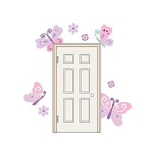 Babies R Us By Design - Butterfly Door Wall Decals