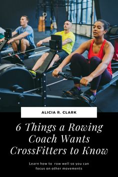 Alicia R. Clark | As a CF-L1, I've seen so many different technical issues when it comes to rowing. I know that rowing is not something that's focused on in a WOD. However, rowing can really hurt your workout score if you don't do it correctly. If you don't row well, you can hurt yourself. Here are six things that as a rowing coach, you should know. #crossfit #crossfitrowing #crossfittraining Rowing Workout, Indoor Rowing, Cross Training Workouts, Rowing Machines, Get Healthy, Crossfit, It Hurts, Health Fitness, Muscle
