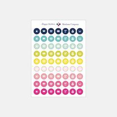Naklejki. Happy Stickers. Etykiety