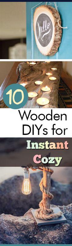 10 Wooden DIYs for I