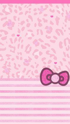 mhkitty~!★彡( ̄(工) ̄) Bow Wallpaper, Animal Print Wallpaper, Cute Wallpaper For Phone, Hello Kitty Wallpaper, Cellphone Wallpaper, Colorful Wallpaper, Mobile Wallpaper, Wallpaper Backgrounds, Iphone Wallpapers