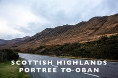 Scottish Highlands :