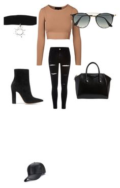 """""""Untitled #1"""" by mhfistheonetoask ❤ liked on Polyvore featuring River Island, Ray-Ban, Givenchy and Gianvito Rossi"""