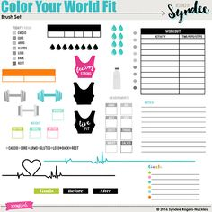 Brush Set: Color Your World Fit