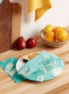 Garden large food wraps Set of 2 art design landspacing to plant Dining Set, Kitchen Dining, Kitchenware, Tableware, Tree Art, Kitchen Accessories, Biodegradable Products, Serving Bowls, Eco Friendly