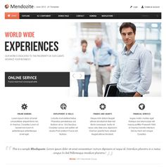 JA Mendozite - Joomla! 2.5 & 3.x business template
