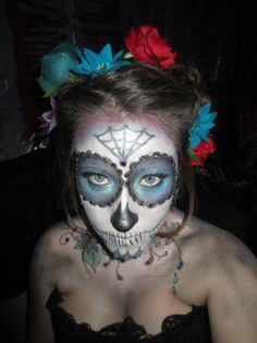 Halloween Costume - Day of The Dead - Sugar Skull