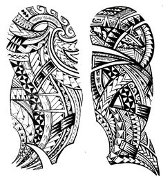 Free coloring page coloring-tatouage-maori. Maori tattoo to print and to color