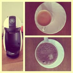 #husbandpresent #dolcegusto #coffeelovers #chococcino #espressointenso